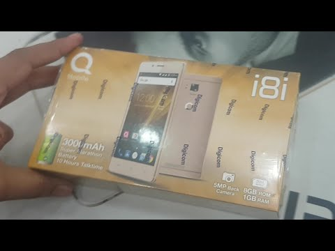 Qmobile i8i unboxing & Review in urdu / hindi