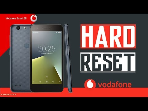Hard Reset Vodafone Smart E8 VFD 510