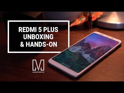 Redmi 5 Plus Unboxing and Hands-on (Redmi Note 5)