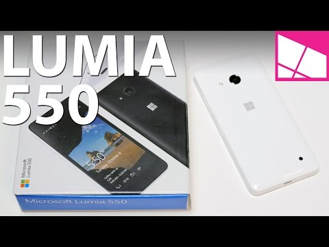 Lumia 550 unboxing & first impressions