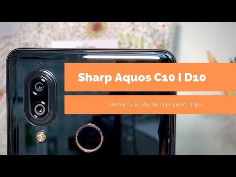 Sharp Aquos C10 i D10 - pierwszy polski test