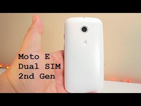 Moto E Dual Sim 2nd Gen