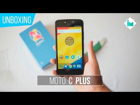 Motorola Moto C Plus - Unboxing en español