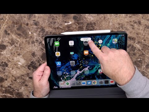 """iPad Pro (2018) 12.9"""" 256Gb Unboxing and Hands On"""