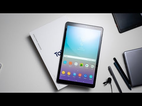 Samsung Galaxy Tab A 10.5 Unboxing & Hands On