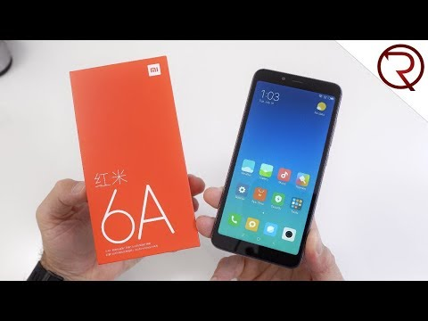 Is the $90 Xiaomi Redmi 6A any good?! Unboxing & Benchmark Results
