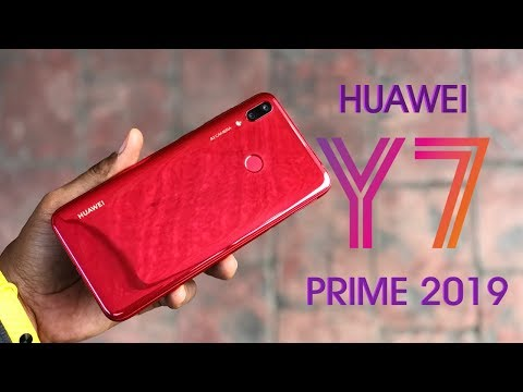 HUAWEI Y7 Prime 2019 Unboxing and Review