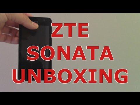 ZTE Sonata 2 Unboxing