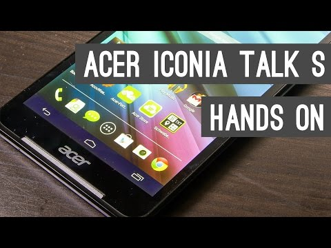 Acer Iconia Talk S Hands On + Quick Review