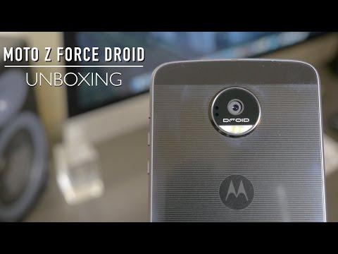 Moto Z Force DROID Unboxing!