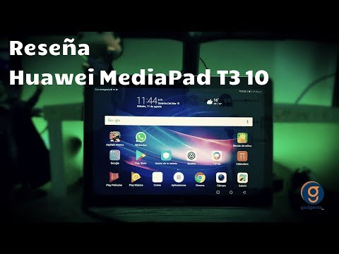 Reseña Huawei MediaPad T3 10 (Review en español)