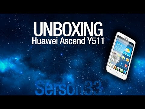 Unboxing - Huawei Ascend Y511
