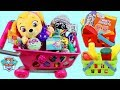 PAW PATROL Pup Baby Skye Goes Shopping f...