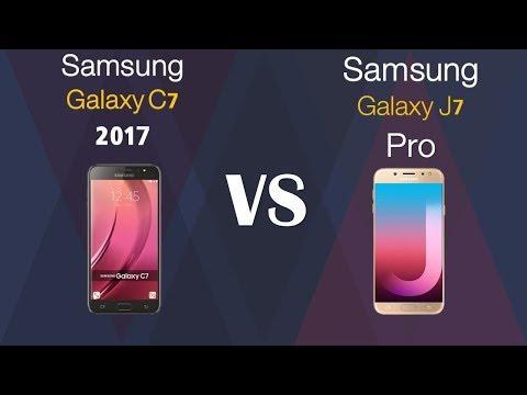 Samsung Galaxy C7 2107  VS Samsung Galaxy J7 PRO
