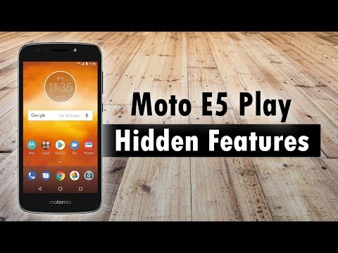 Hidden Features of the Moto E5 Play You Don't Know About | H2TechVideos