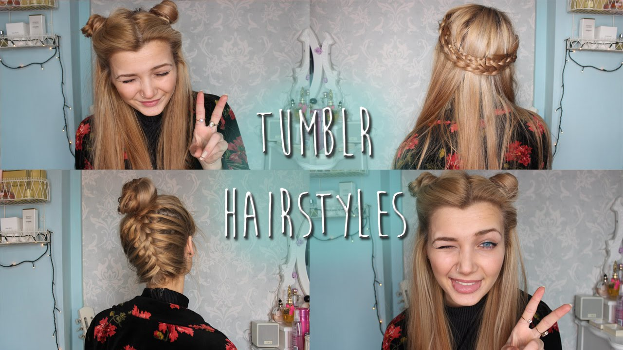 Hairstyles Minute Hairstyles For Short Hair Tumblr Inspired - Hairstyles for short hair on tumblr