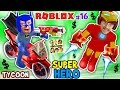 ROBLOX SUPER RICH HEROES $$$$ Iron Man D...