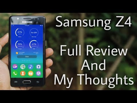 Samsung Z4 Full Review : Its Smooth & Flashy