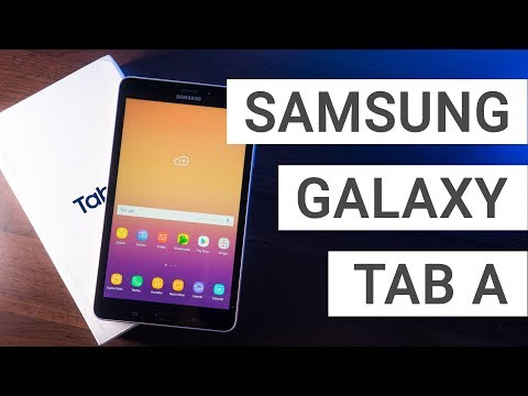 Samsung Galaxy Tab A 8.0 2017 Unboxing & Hands On