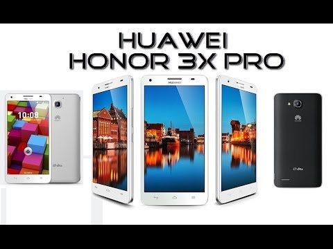 Huawei Honor 3X Pro-Android 4.4 KitKat