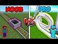 Minecraft NOOB vs. PRO: ROLLERCOASTER in...