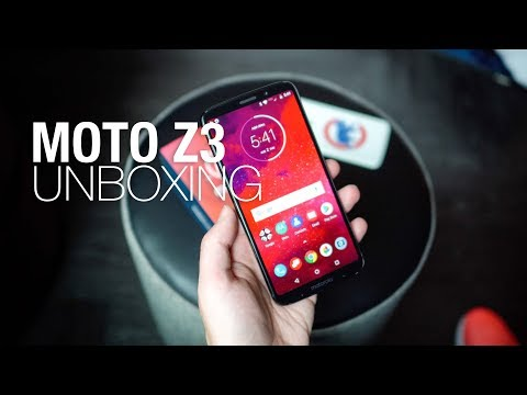 Moto Z3 Unboxing and First Look!