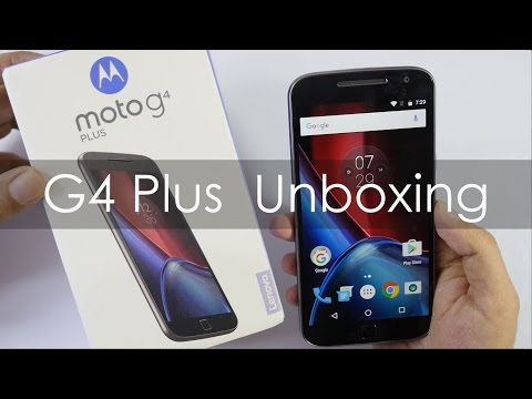 Moto G4 Plus Smartphone Unboxing & Overview