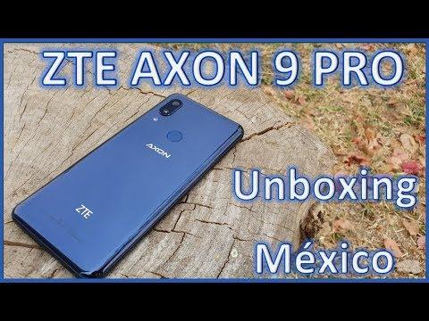 ZTE Axon 9 Pro Unboxing México/ un gama alta a precio de gama media