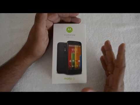 Motorola Moto G (Dual SIM) Unboxing