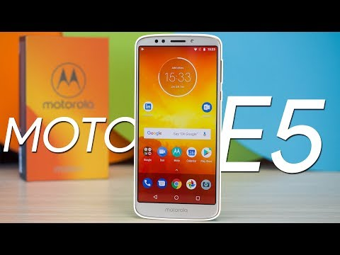 Moto E5 hands-on