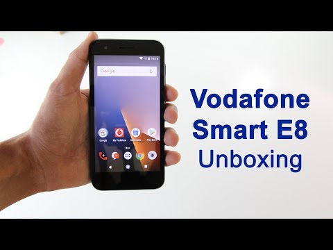 Vodafone Smart E8 - Unboxing