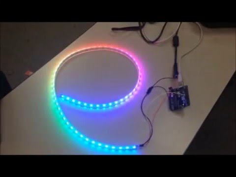 Arduino Project: RGB LED Mood light - Attiny85 / WS2812