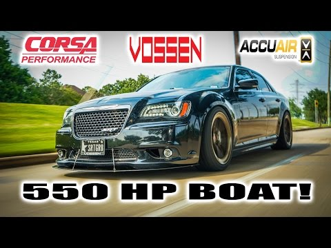 """550 HP Chrysler 300 SRT8! A Dope American Daily? A.K.A. """"The BOAT"""""""