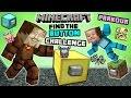 Minecraft FIND the BUTTON CHALLENGE! Dud...