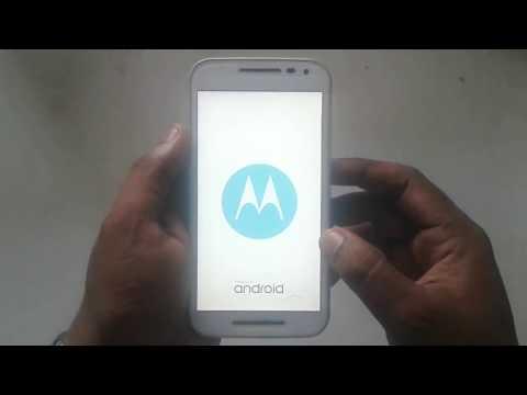 Motorola Moto G 3rd gen hard reset