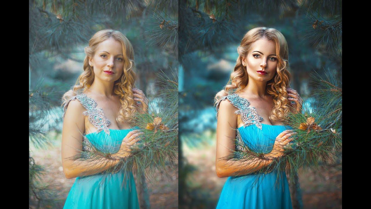 как сделать художественную фотографию в фотошопе