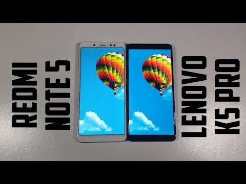 Xiaomi Redmi Note 5 vs Lenovo K5 Pro Camera comparison/Screen/Size/Sound Speakers/Design! Review