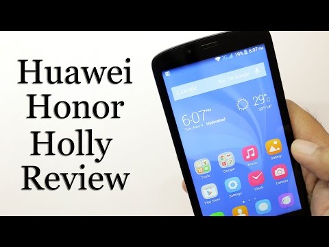Huawei Honor Holly Review Budget Android Phone is it good?