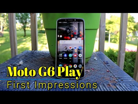 Moto G6 Play: First Impressions - This one is a winner!
