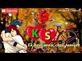 K & S Letter Love whatsapp status video