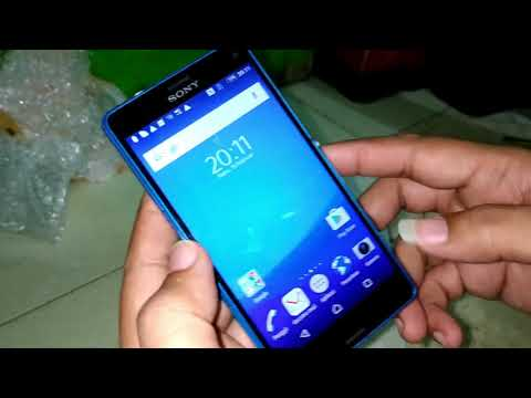 Unboxing sony xperia z4 compact