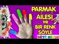 Parmak Ailesi - Renkler - Renkli Parmakl...