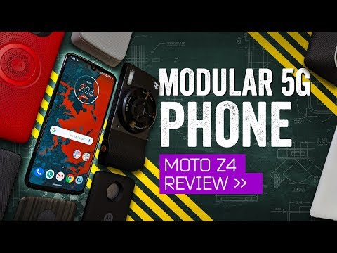 "Moto Z4 Review: Is This The Moto Z ""4"" U?"