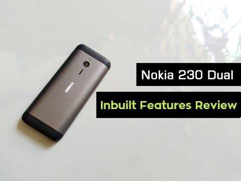Nokia 230 Dual Sim Unboxing | Hands on & Inbuilt Mobile Features Review | Part - 1