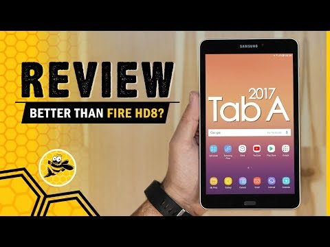 Better Than the Fire HD 8? 2017 Samsung Galaxy Tab A 8 Review
