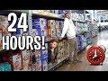 24 HOUR OVERNIGHT FORT CHALLENGE! (ft. I...