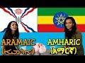Similarities Between Amharic and Assyria...