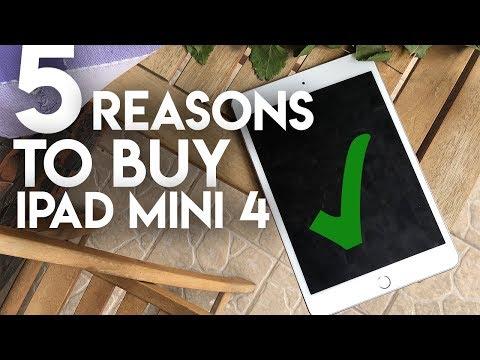 Top 5 Reasons to Buy iPad Mini 4
