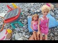 Elif plajda mangal keyfinde , Barbie ile...