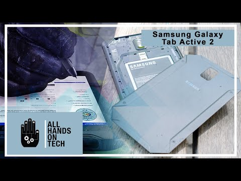 All Hands on Tech - Samsung Galaxy Tab Active2 review - rugged and modern tablet